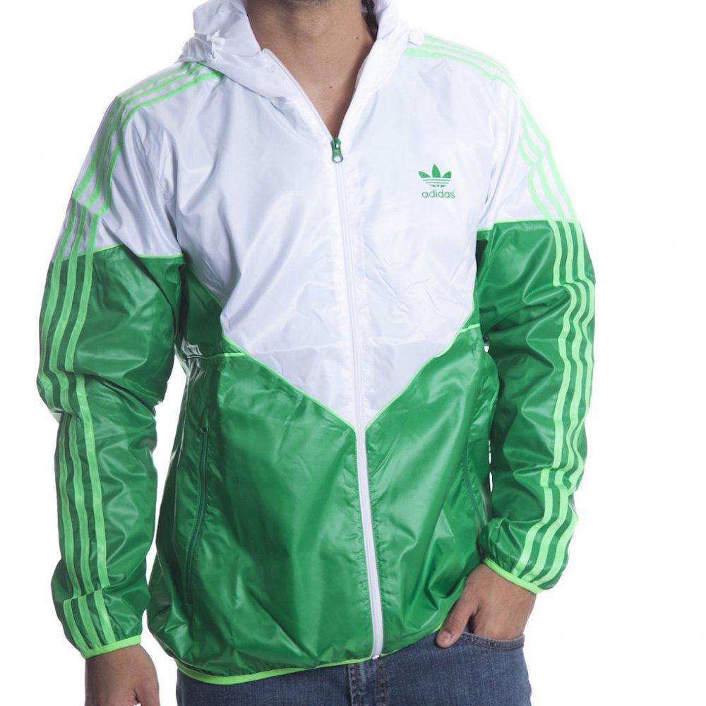 c7762069b6f94 Giacca a Vento Adidas Originals  Colorado WB WH GN ...