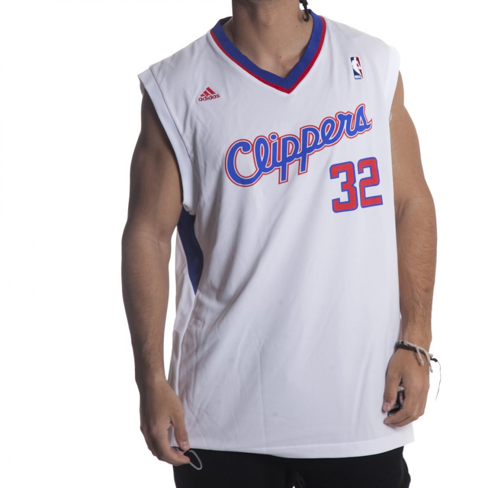Canotta NBA Adidas  Clippers Griffin WH ... 75bc056046bb