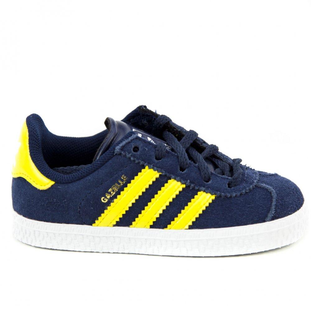 ... Scarpe Bambino Adidas Originals: Gazelle 2 NV/YL. ‹