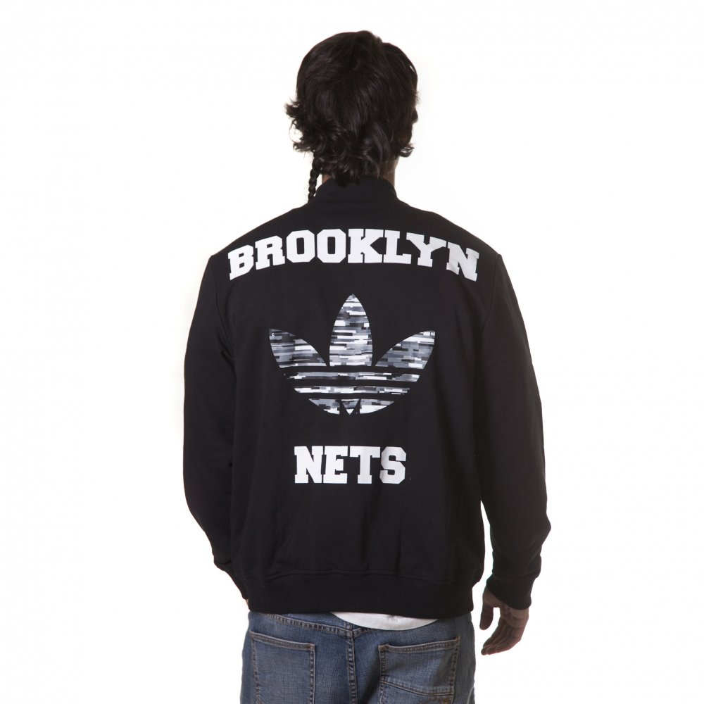 ... Giacchetta adidas  NBA Brooklyn Nets BL ... f958394152a3