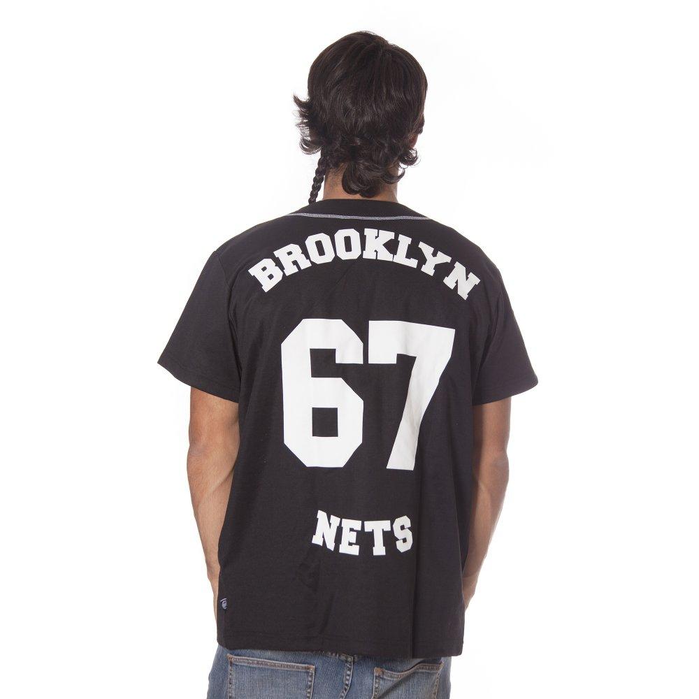 ... Camicia adidas originals  NBA Brooklyn Nets Base BK ... 7bfd863920dc