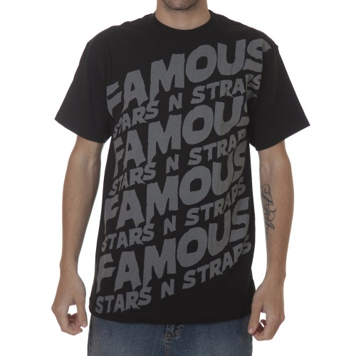 T-Shirt Famous Stars&Straps: Step Up BK