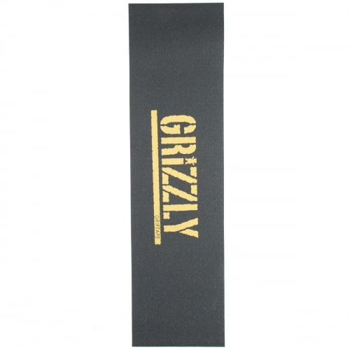 Grip Grizzly: Stamp Print Grip Gold