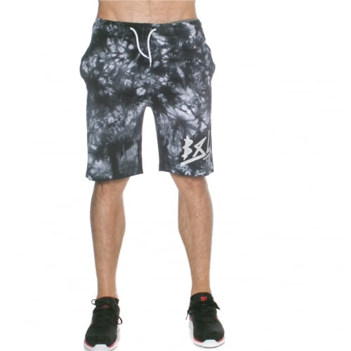 Short Grimey: Godly Beigns Tie Dye Shorts BK