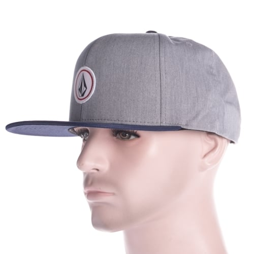 Cappello Volcom: Quarter Twill Heather GR/NV