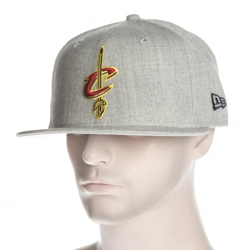 Cappello New Era: NBA Heather Fitted Cleveland Cavaliers GR