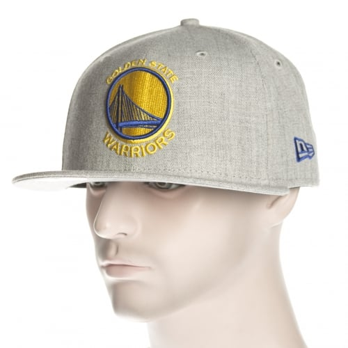 Cappello New Era: NBA Heather Fitted Golden State Warriors GR