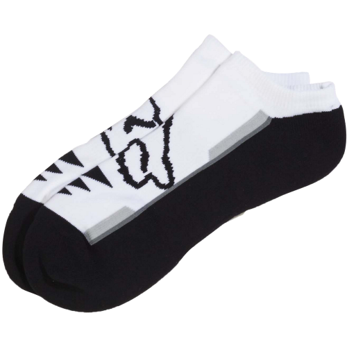 Calze Fox Racing: Perf No Show Sock - 3 Pack WH