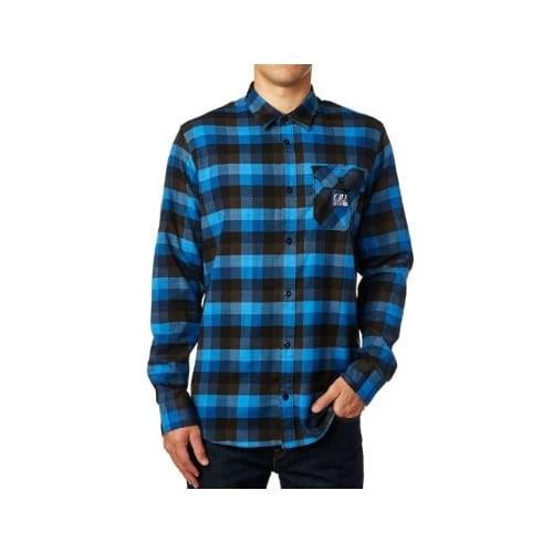 Camicia Fox Racing: Rovar Flannel BL
