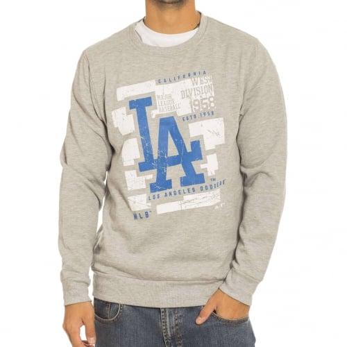 Felpa Majestic: Graphic Crew LA Dodgers GR