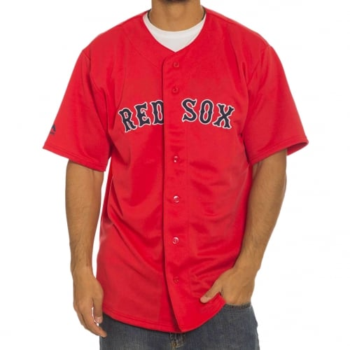Camicia Majestic: MLB Replica Jersey Red Sox RD