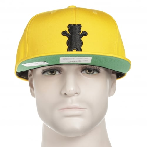 Cappello Grizzly: Bear Snapback Gold OR