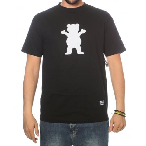 T-Shirt Grizzly: OG Bear BK