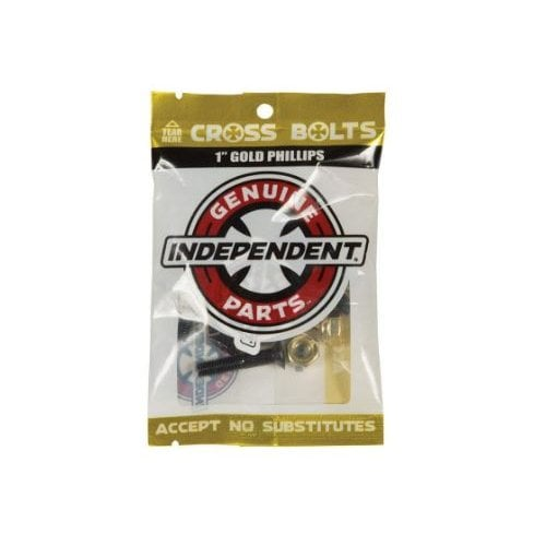 """Viti Independent: Cross Bolts Phillips Gold 1"""""""