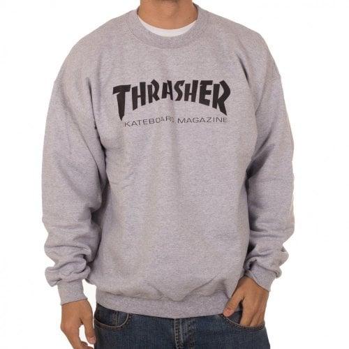 Felpa Thrasher: Skate Mag Crew GR