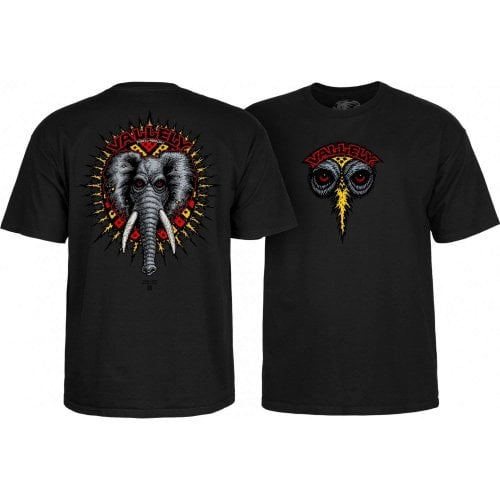 T-Shirt Powell Peralta: Mike Vallely Elephant BK