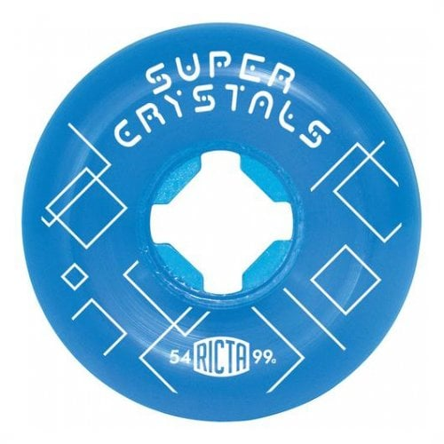 Ruote Ricta: Super Cristals Blue 99A (54mm)