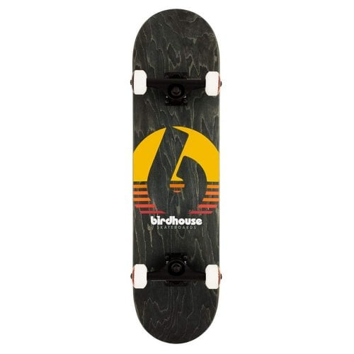 Skate Completo Birdhouse: Stage 3 Sunset Black 8.0