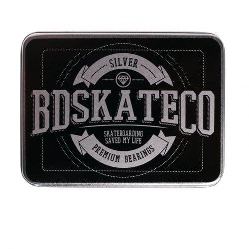 Cuscinetti BDSkateCO: Metal Box Silver