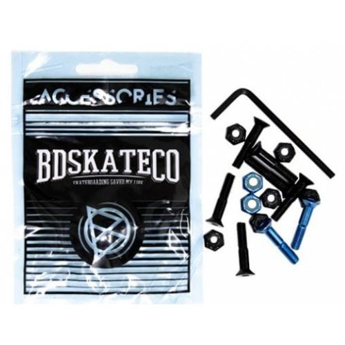 "Viti BDSkateCO: Black & Blue 1"" Allen"