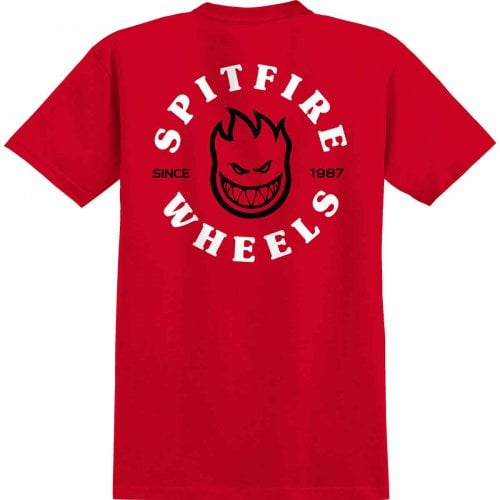 T-Shirt Spitfire: Bighead Classic SS RD