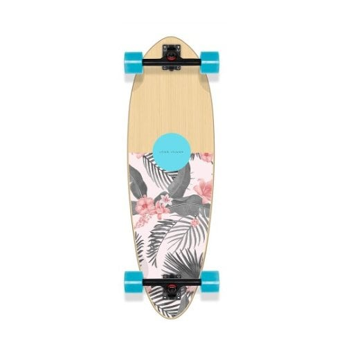 "Long Island Complete Longboard: Lei 32.75""x10"" Mini Pin"