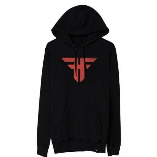 Felpa Hoodie Fallen: Trademark Black/Red