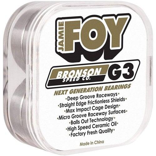 Cuscinetti Bronson Speed Co: G3 Jamie Foy