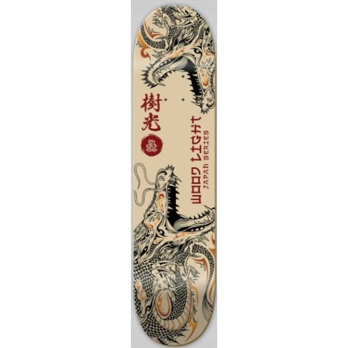Tavola Wood Light: Japan Series Dragons 8.25