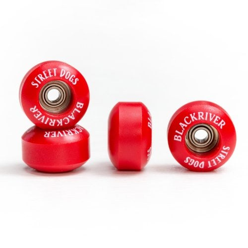 Ruote Fingerboards Blackriver: Street Dogs Red