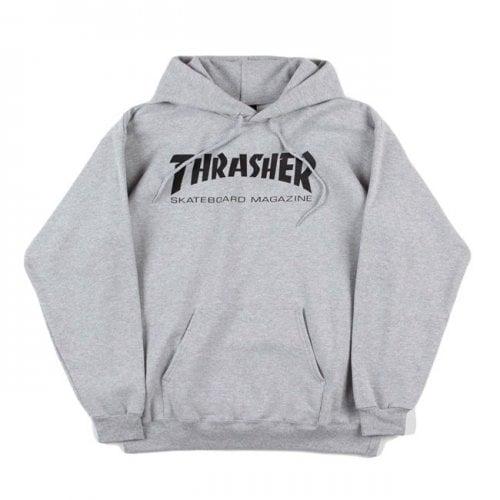 Felpa Hoodie Thrasher: Skate Mag Hood GR