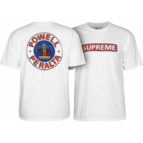 T-Shirt Powell Peralta: Supreme White