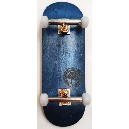 Complete Fingerboard BerlinWood: BW Minilogo Blue Set Wide 32mm