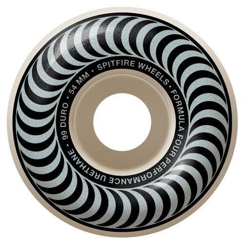 Ruote Spitfire: F4 Classics Silver (54mm)