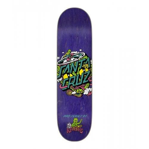 Tavola Santa Cruz Skateboards: Knibbs Reptililan Dot 8.27x31.83