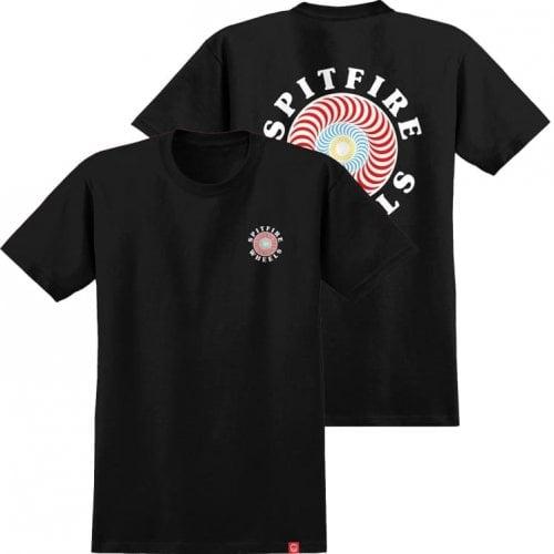 T-Shirt Spitfire: OG Classic Fill Black