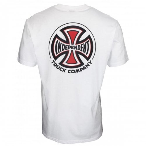 T-Shirt Independent: Big Truck Co White