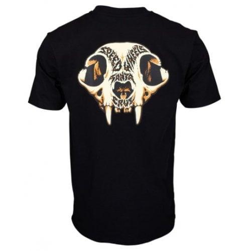 T-Shirt Santa Cruz: SW Skull BK