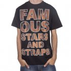 Famous Stars and Straps T-Shirt Famous Stars&Straps: Rosewood Type BK