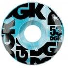 Ruote DGK: Swirl Formula Blue 53mm (101A)