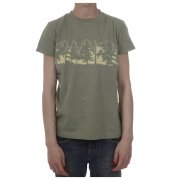T-Shirt Donna Addict: Woodland GN