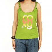 T-Shirt Donna Roxy: Bloch In Solid GN