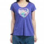 T-Shirt Donna Roxy: Lodge PP, XS