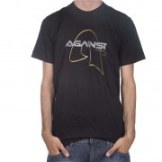 T-Shirt Against Clothing: Gold BK, S