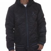 Giacca WESC: We Eskil Hood W/O Back Patch Jacket BK