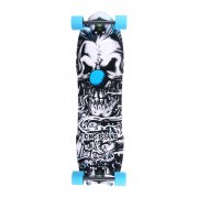Longboard Complete Long Island Skateboard: 14A Klown 8 Plies