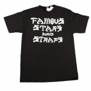 Famous Stars and Straps T-Shirt Famous: SK8'n Dstry BK