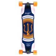 Longboard Complete Elixir: Neptune Orange Top Mount