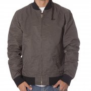 Giacca Obey: Newman Jacket GN/BK