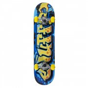 Skate Complete Enuff: Graffiti II Mini Yellow 7.25